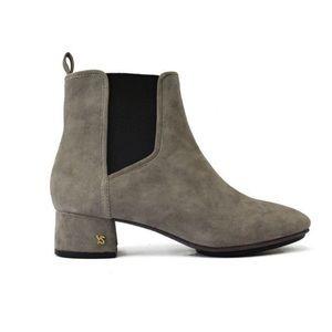 Gray ankle booties- BRAND NEW- Yosi Samra- Size 10